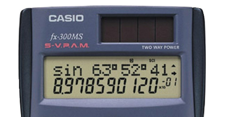 casio-calculator-with-entry-line