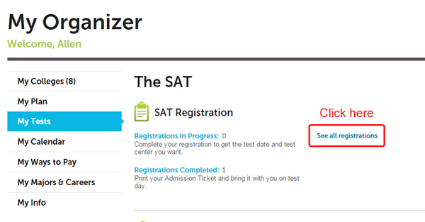 How do i find my sat essay score