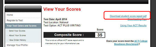 Would someone explain what is the ACT score, the SAT score and the GED... PLEASE!?
