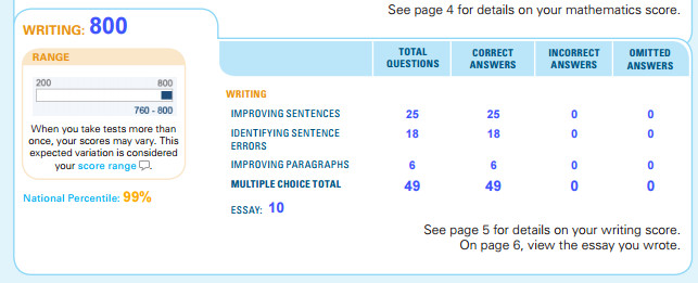 Sat Essay Score Sheet - image 3