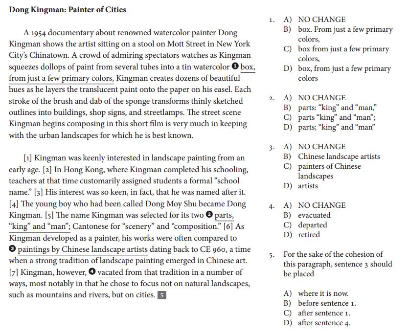 Sat 5 Essay Types - image 9