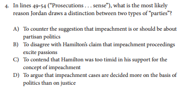 Full Sample Question Excerpt
