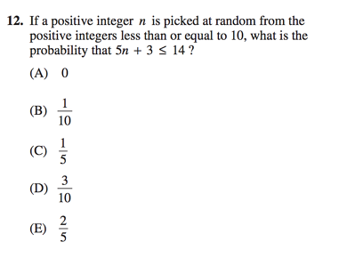 Complete Guide to Probability on SAT Math Practice Questions – Sat Math Practice Worksheets
