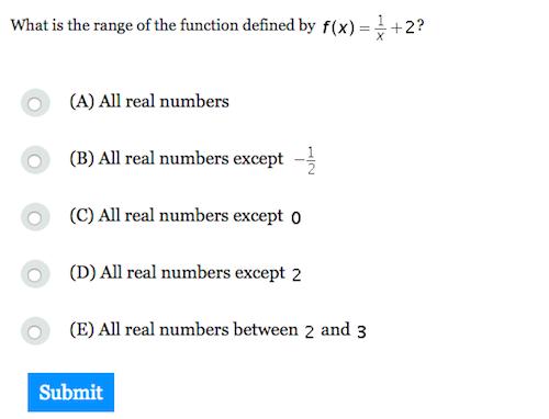 Sat subject test math level 2 practice questions pdf