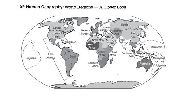 Human geography essay