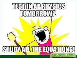 body AP Physics 1 Meme