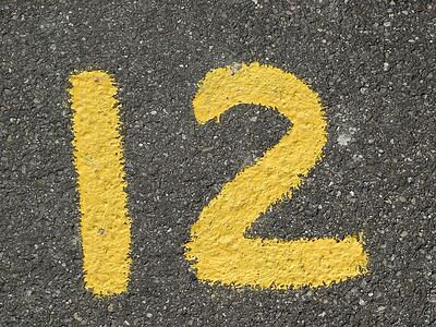 body-12-twelve-number