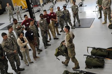 body-ROTC-training