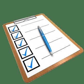 body-checklist
