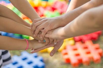 body-hands-all-in-teamwork