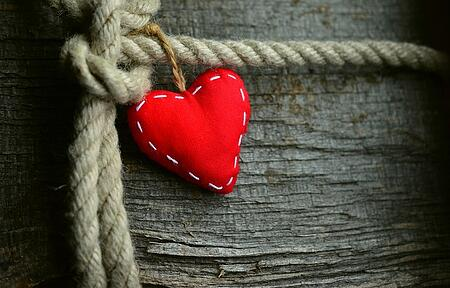 body-heart-tree-wood-rope-red