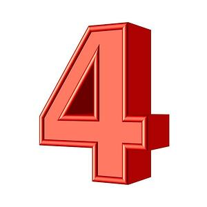 body-number-4-four