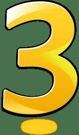 body-number-three-yellow
