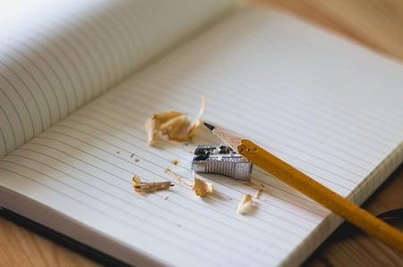 body-pencil-notebook-writing