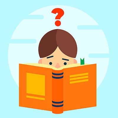 body-reading-question-mark-study-book