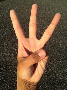 body-three-fingers