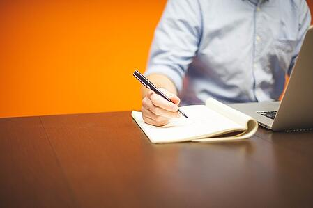 body-writing-computer-orange-write