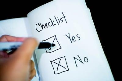 body-yes-no-checklist