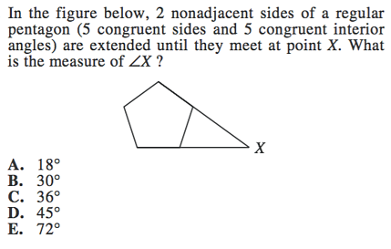 polygons on act math geometry formulas and strategies