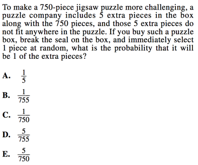 Probability Questions on ACT Math: Strategies and Practice
