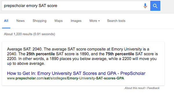 For 7th grade, how good is an 1870 on the SAT?