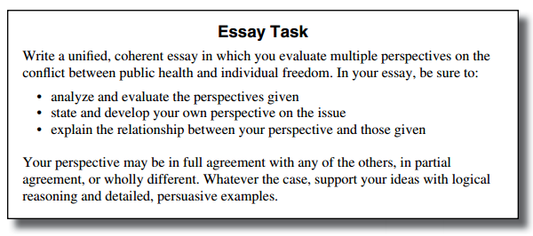 Persuasive Essay Thesis Examples Bodyactessaypromptpng Teaching Essay Writing To High School Students also An Essay On Health Act Vs Sat  Key Differences To Help You Pick The Right Test Classification Essay Thesis Statement