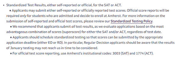 body_amherst_act_testing_policy_screenshot