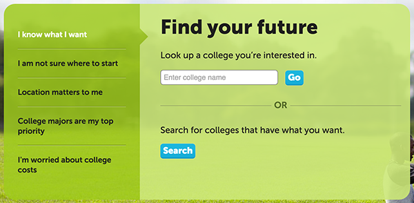 comparing colleges online