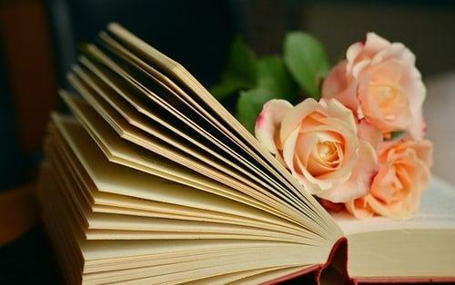 body_book_flower_literature