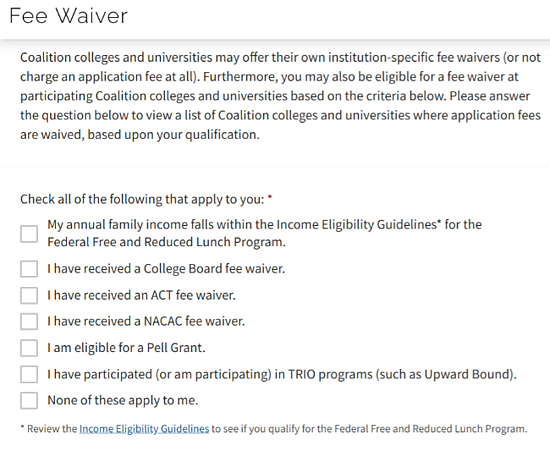 How to Get a College Application Fee Waiver: 3 Approaches