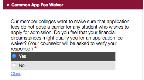 How to get a college application fee waiver 3 approaches bodycommonappguidelinesg altavistaventures Image collections