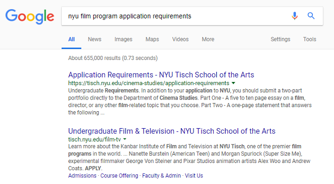body_film_school_google_screenshot