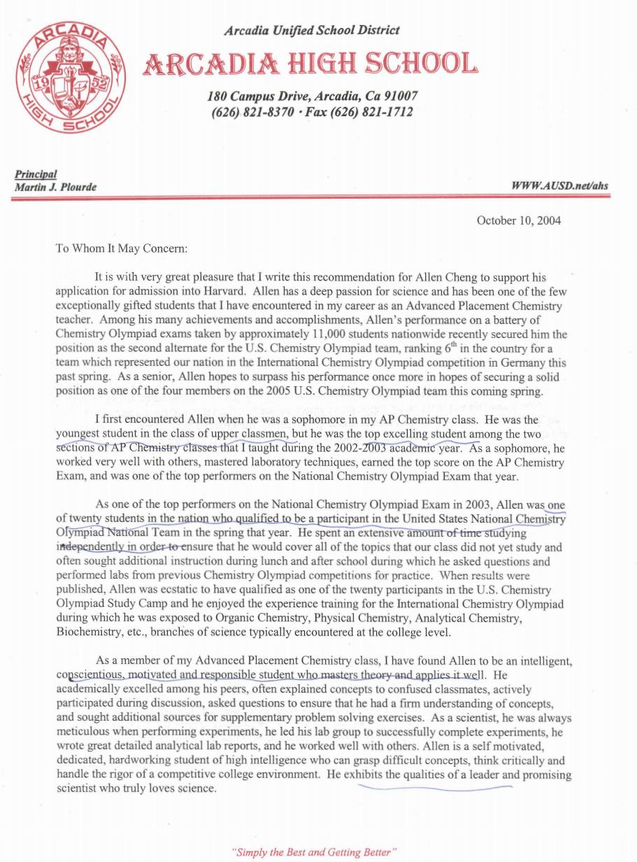 recommendation letter for student teacher