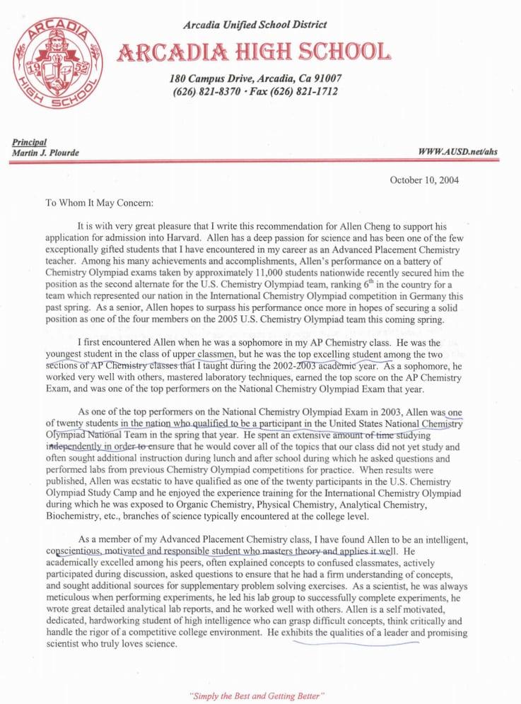 Recomendation Letter Robertottni