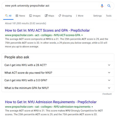 body_nyu_prepscholar_act_search_screenshot