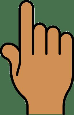 body_pointer_finger_roman_numeral