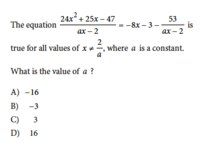 The 13 Hardest SAT Math Questions Ever