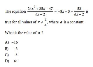 Printables Math Questions the 13 hardest sat math questions ever question 2
