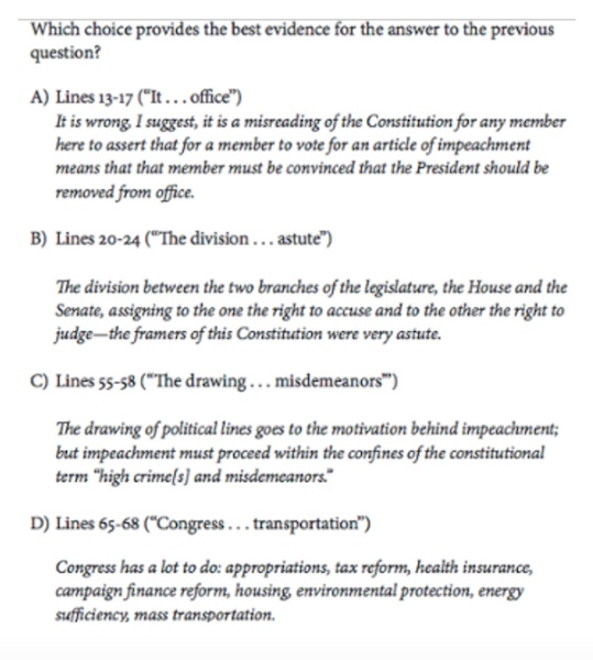 Ssat practice essay questions