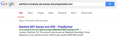 Why are SAT scores in ranges (a score-another score)?