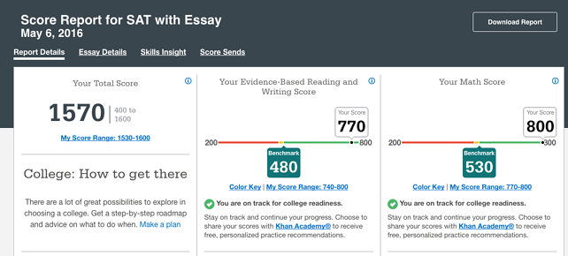 How do i find my ap essay scores