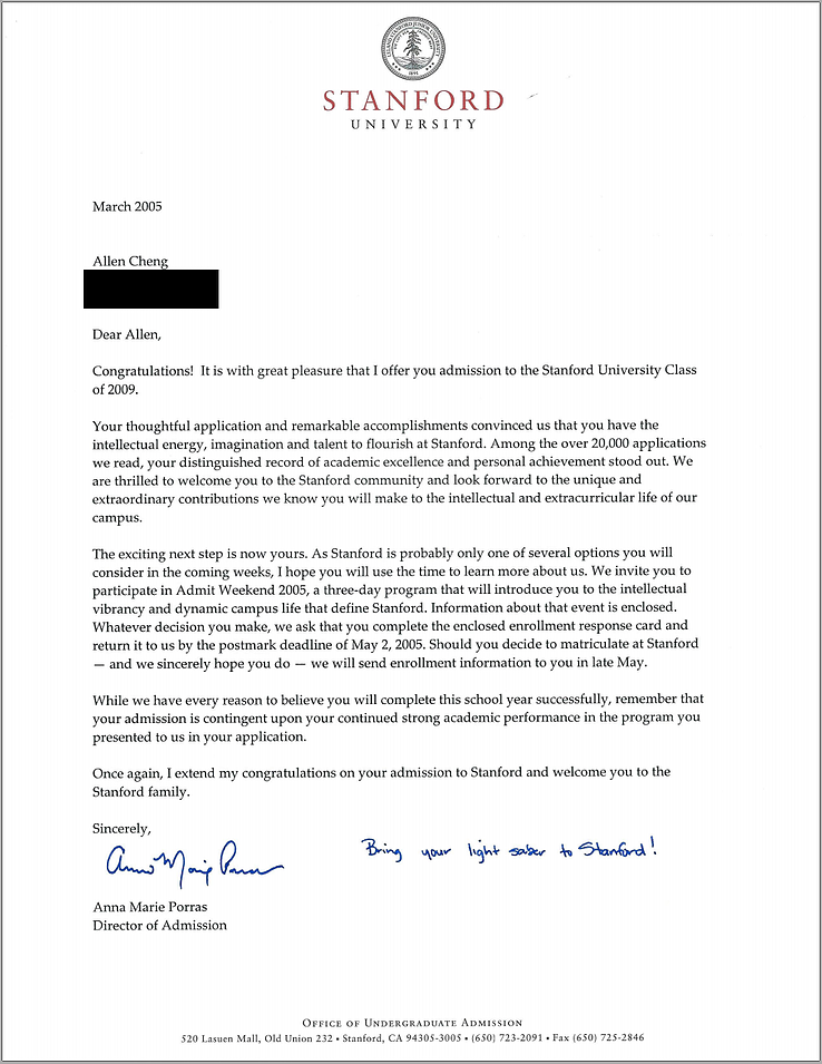 when do colleges send acceptance letters stanford acceptance letter real and official 25618 | body stanfordacceptanceletter 1.png?width=739&height=955&name=body stanfordacceptanceletter 1