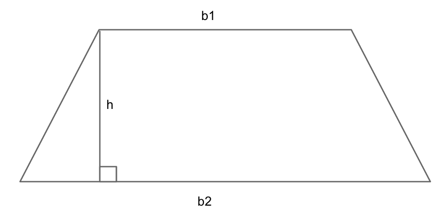 how to find slant height of a trapezoid