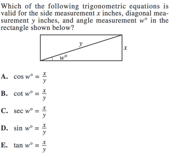 ACT Trigonometry: The Complete Guide