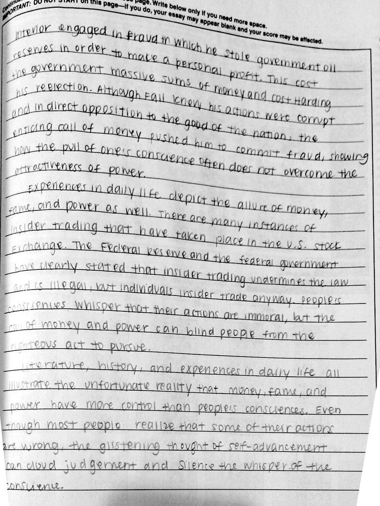 Sat Essay Examples 12