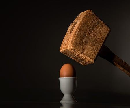 mallet-egg