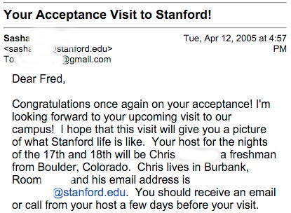 How To Get Into Stanford By An Accepted Student