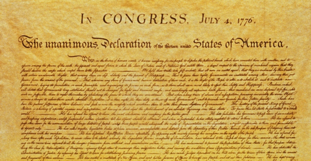 an analysis of the american literature and the declaration of independence topic in the history of t Declaration of independence: declaration of independence, in us history declaring independence american literature.