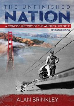 unfinished nation questions Study study guide to accompany brinkley: the unfinished nation: a concise history of the american people discussion and chapter questions and find study guide to.